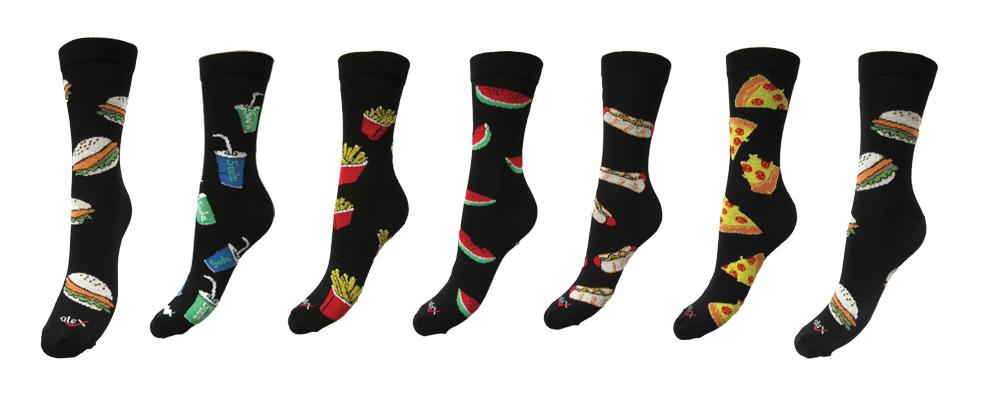 Happy Socks - Skarpety Fast Food