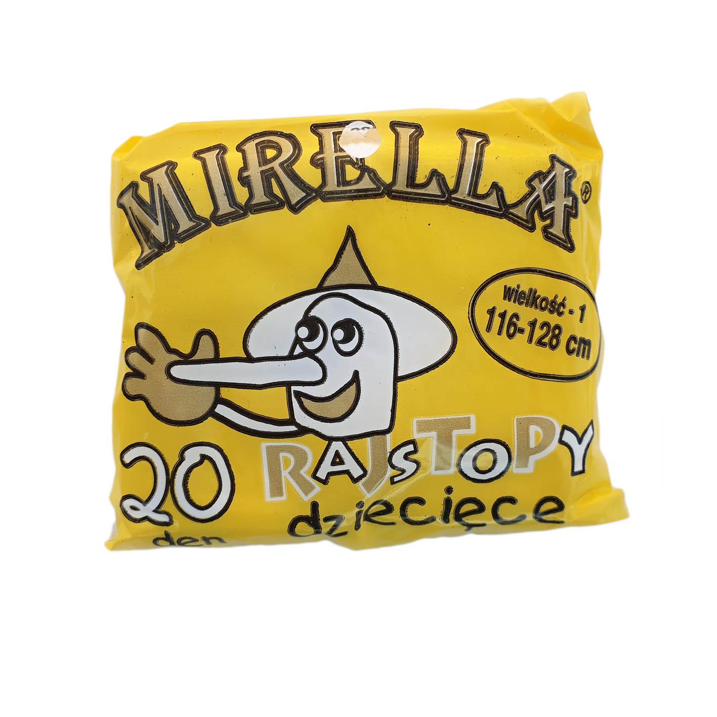 Rajstopy dziecięce poliamid 116-128 Mirella