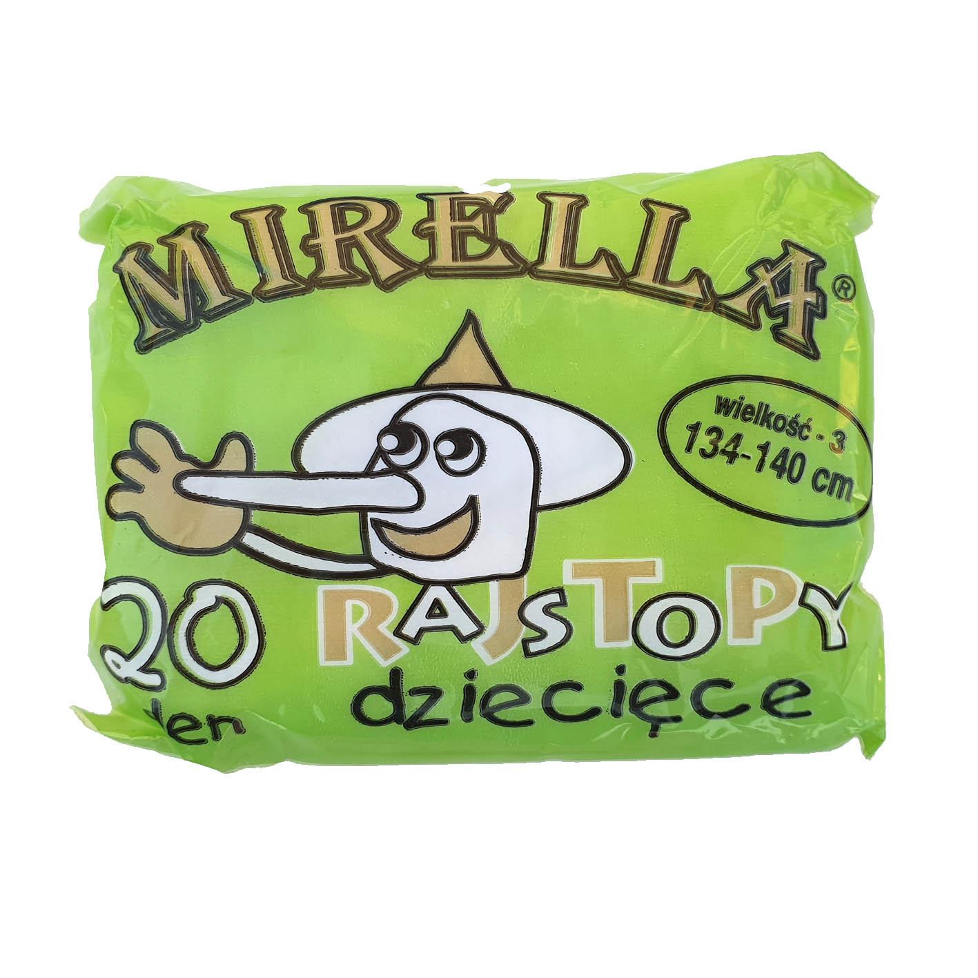 Rajstopy dziecięce poliamid 134-140 Mirella