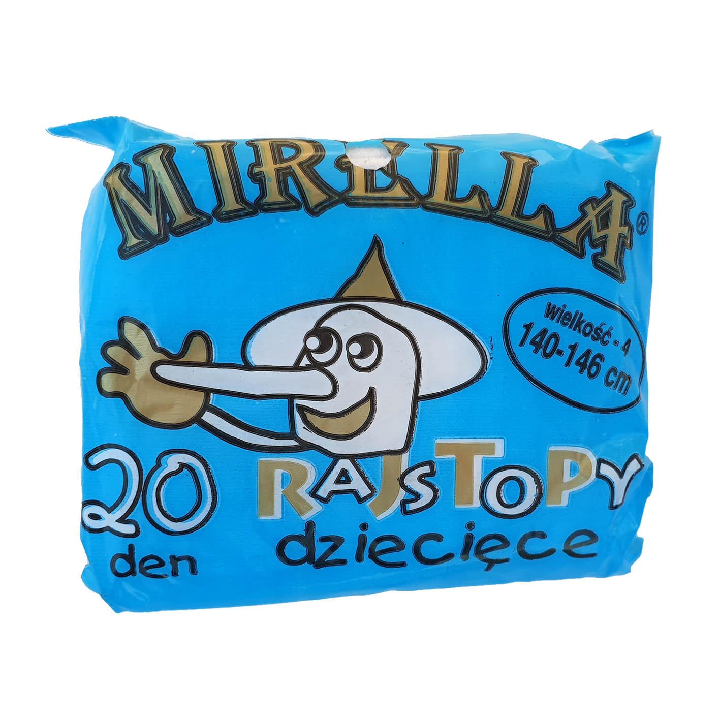 Rajstopy dziecięce poliamid 140-146 Mirella